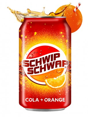 Pepsi Schwip Schwap Cola Naranja 330 ml  | OFERTA NOVEDADES