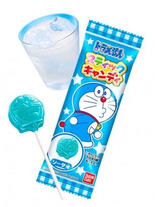 Piruleta de Doraemon sabor Ramune 9 grs