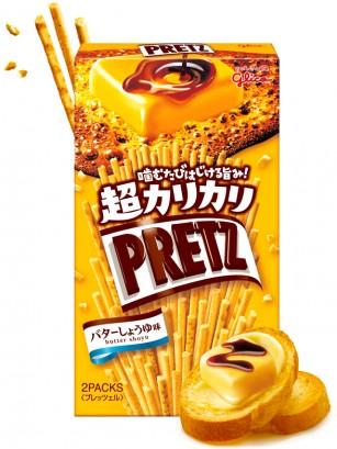 Sticks Pretz Super Crispy de Mantequilla y Soja 55 grs.