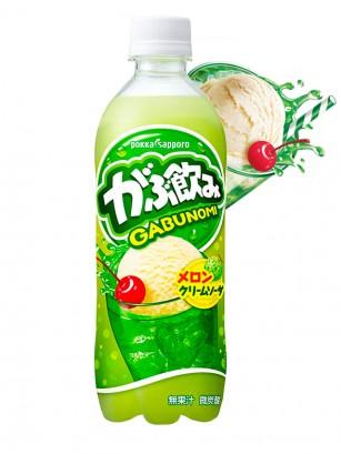 Soda de Melón con Helado de Vainilla | Gabunomi