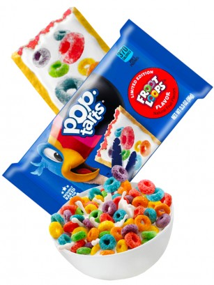 Pop Tarts Frosted Froot Loops Limited Edition | 2 Unidades