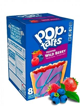 Pop Tarts Frosted de Fresa y Bayas Silvestres | 8 Unidades