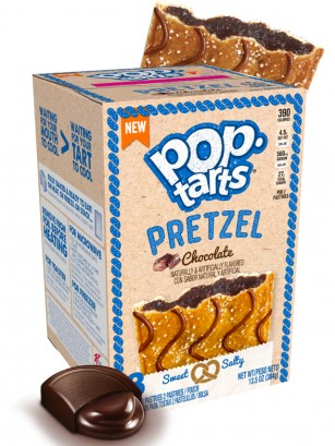 Pop Tarts Pretzel de Chocolate 384 grs.