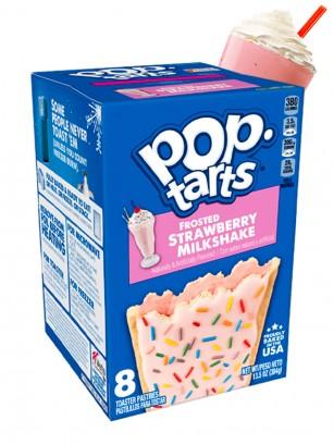 Pop Tarts Frosted Batido de Fresa 384grs