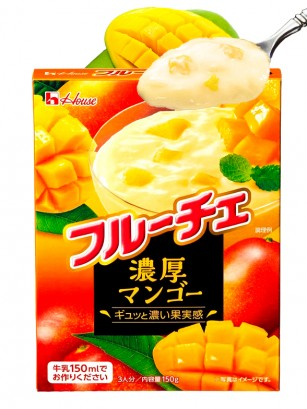 Postre Japonés Fruché Mango Indio 150 grs
