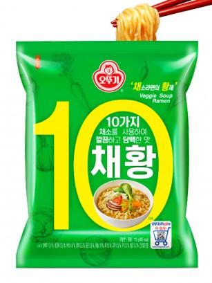 Ramen Coreanos de Verduras | 110 grs.