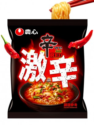 Fideos Ramen Coreanos Red Shinramyun | Super Spicy 120 grs.