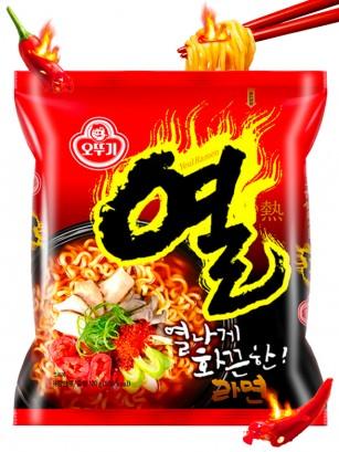 Ramen Coreanos Yeul de Ternera y Pollo | Extra Hot 120 grs.