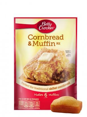 Preparado de Cornbread y Muffins de Maíz 184 grs.