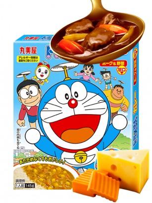 Salsa de Curry Japonesa con Cerdo y Queso | Doraemon 145 grs