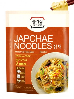 Fideos Instantáneos Japchae Jongga | 109 grs