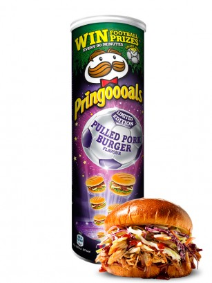 Pringles Pulled Pork Burger 200 grs.