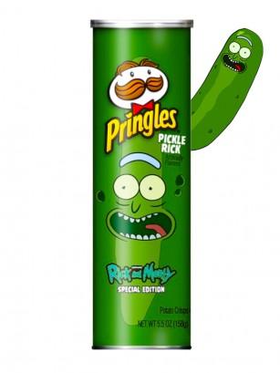 Pringles XTRA Intense Sabor a Pepinillos | Edición Limitada Rick & Morty