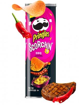 Pringles Scorchin Extra Hot BBQ 158 grs