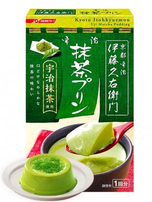Preparado para Pudding Matcha de Kyoto | Repostería Ito Kyuemon 50 grs