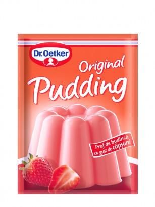 Preparado para Pudding de Fresa | 4 raciones