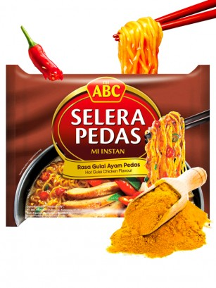 Ramen Mi ABC de Pollo con Curry Picante 70 grs.