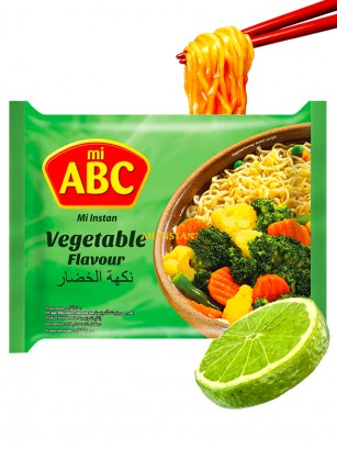 Ramen Mi ABC de Verduras y Lima 70 grs.