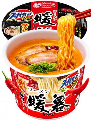 Fideos Ramen Super King Cup | Cerdo Picante | Receta de Chikushino 115 grs.