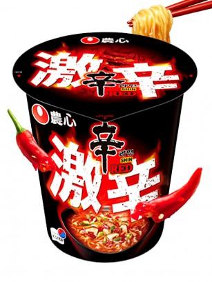 Fideos Ramen Coreanos Red Shinramyun | Super Spicy Cup