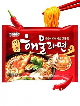 Fideos Ramen Coreanos Seafood Hot & Spicy 120 grs.