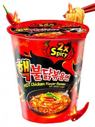 Ramen Coreano Salteado Wok ULTRA DOBLE HOT Chicken | Cup Edition