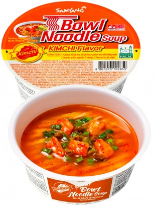 Ramen Coreano de Kimchi | Samyang Bowl Noodle 86 grs.