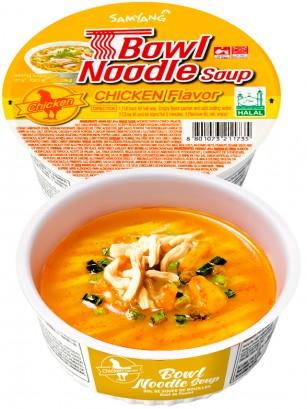 Ramen Coreano de Pollo | Samyang Bowl Noodle 86 grs.