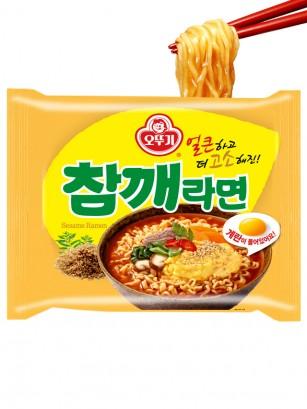 Ramen Coreano de Ternera, Sésamo y Huevo | Receta Ottogi 115 grs.