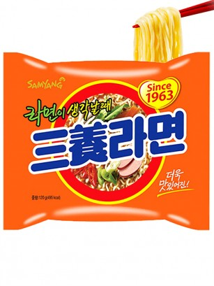 Fideos Ramen Coreano Samyang Ternera | Orange Bag