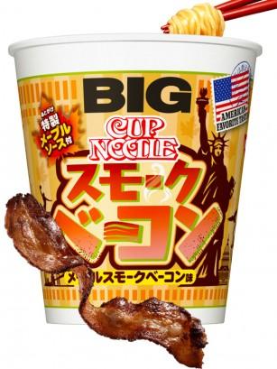 Nissin Cup Noodles Bacon y Sirope de Arce | Big Cup | Pedido GRATIS!