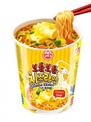 Ramen Coreano de Queso | Cheese Ramyun Cup 62 grs.