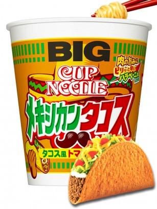 Nissin Cup Noodles Taco Mejicano | Big Cup 109 grs.