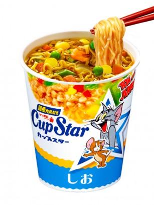 Ramen Cup Star Shio | Receta Japonesa Sanyo | Edición Tom & Jerry 78 grs