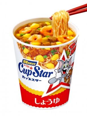 Ramen Cup Star Clasica | Receta Japonesa Sanyo | Edición Tom & Jerry 79 grs