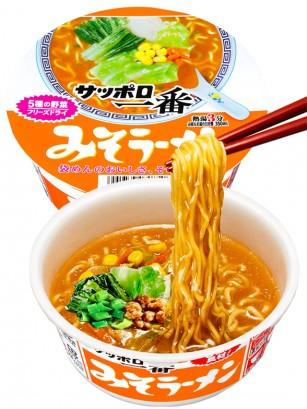 Fideos Ramen Donburi de Miso y Pollo | Receta de Sapporo
