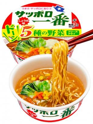 Fideos Ramen Donburi de Shoyu y Pollo | Nihon Nº1 | 79 grs