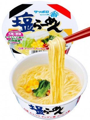 Fideos Ramen Shio Receta Japonesa de Sapporo 76 grs