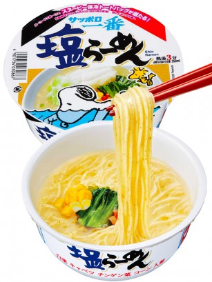 Fideos Ramen Shio Receta Japonesa de Sapporo | Edición Snoopy 76 grs