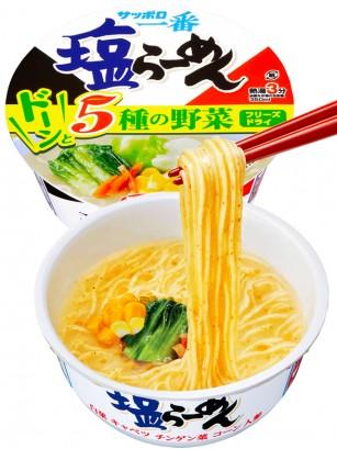 Fideos Ramen Shio Receta Japonesa de Sapporo 76 grs. | Pedido GRATIS!
