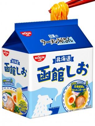 Ramen Shio con Vieira, Pollo y Cerdo | Receta de Hokkaido 87 grs