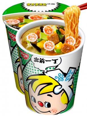Demae Ramen Extra Cup | Tonkotsu | Fresh Sauce