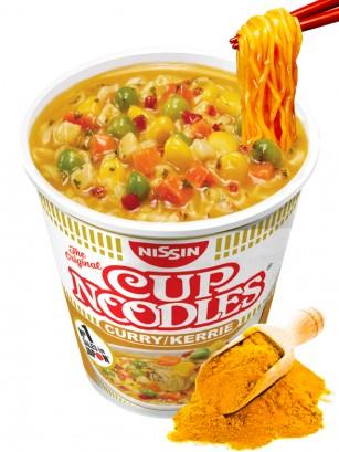 Fideos Ramen Pollo & Curry, My Nissin Cup | Receta Mejorada