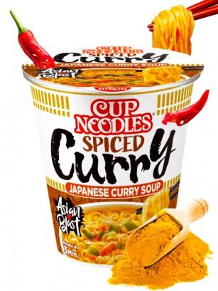 Fideos Ramen Pollo & Curry Picante, My Nissin Cup | Receta Mejorada