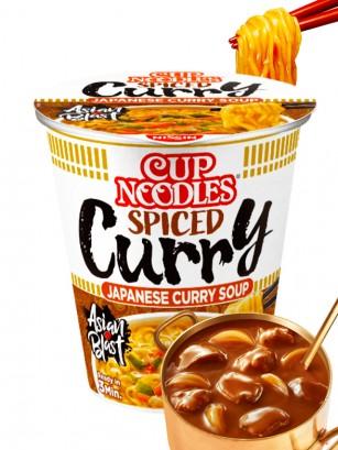 Fideos Ramen Pollo & Curry Picante, My Nissin Cup
