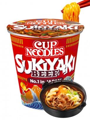 Fideos Ramen Ternera Sukiyaki | My Nissin Cup 73 grs