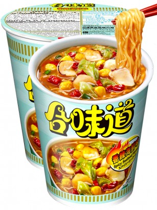 Ramen Nissin Colors Cup Super Toppings | Marisco Chili