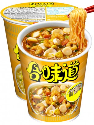 Ramen Nissin Colors Cup Super Toppings | Marisco con Salsa Marinada