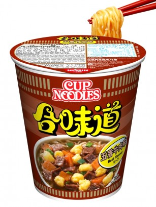 Ramen Nissin Colors Cup Super Toppings | Ternera 5 Especias