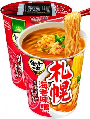 Fideos Ramen Cup de Miso y Tempura de Gambas | Receta de Sapporo 67 grs.
